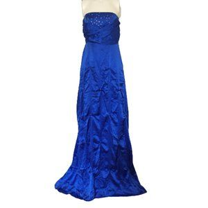 Royal Blue Size S Gown